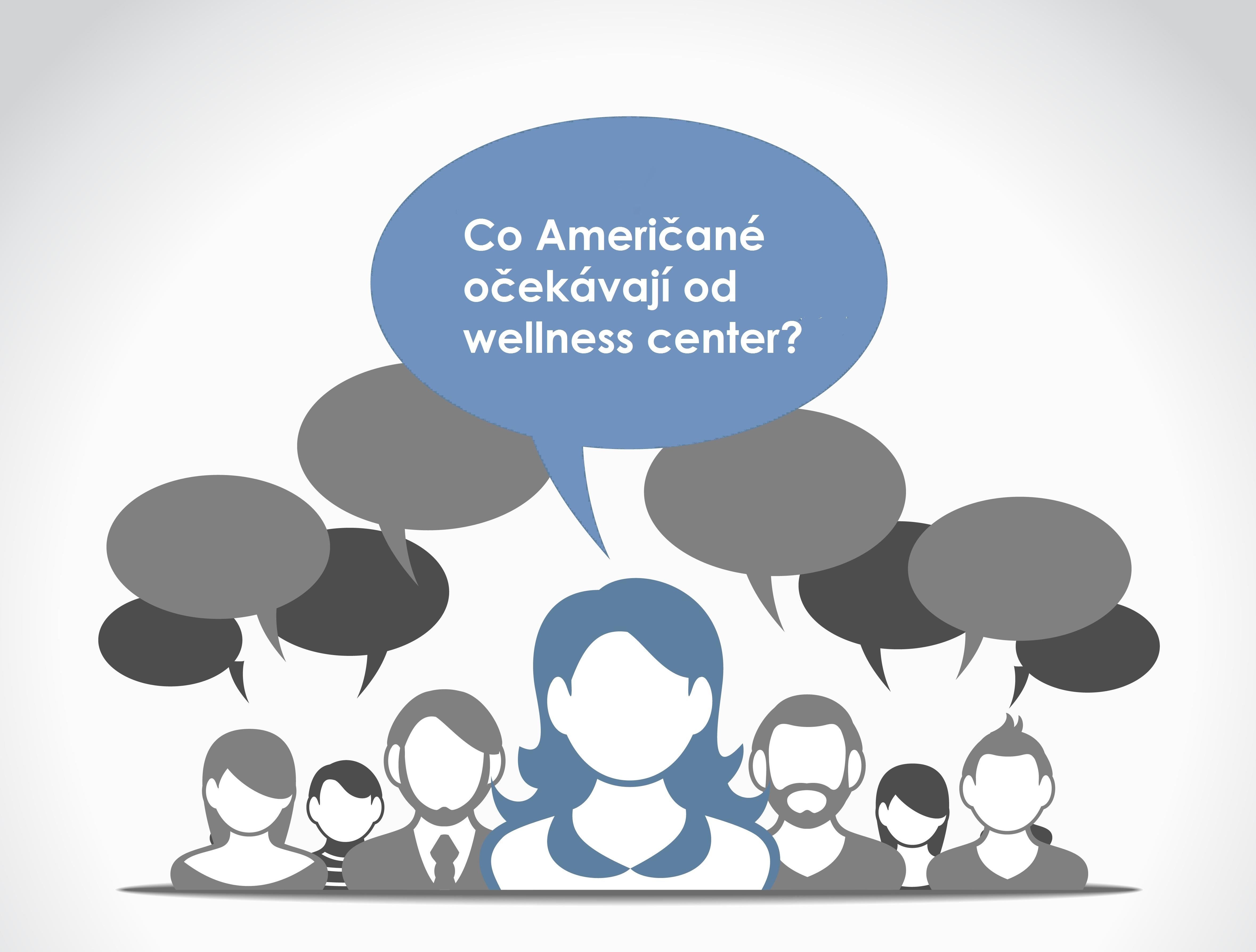 Co očekávaj Američané od wellness center zeptala jsem se